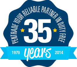 Pentrade logo 35 years
